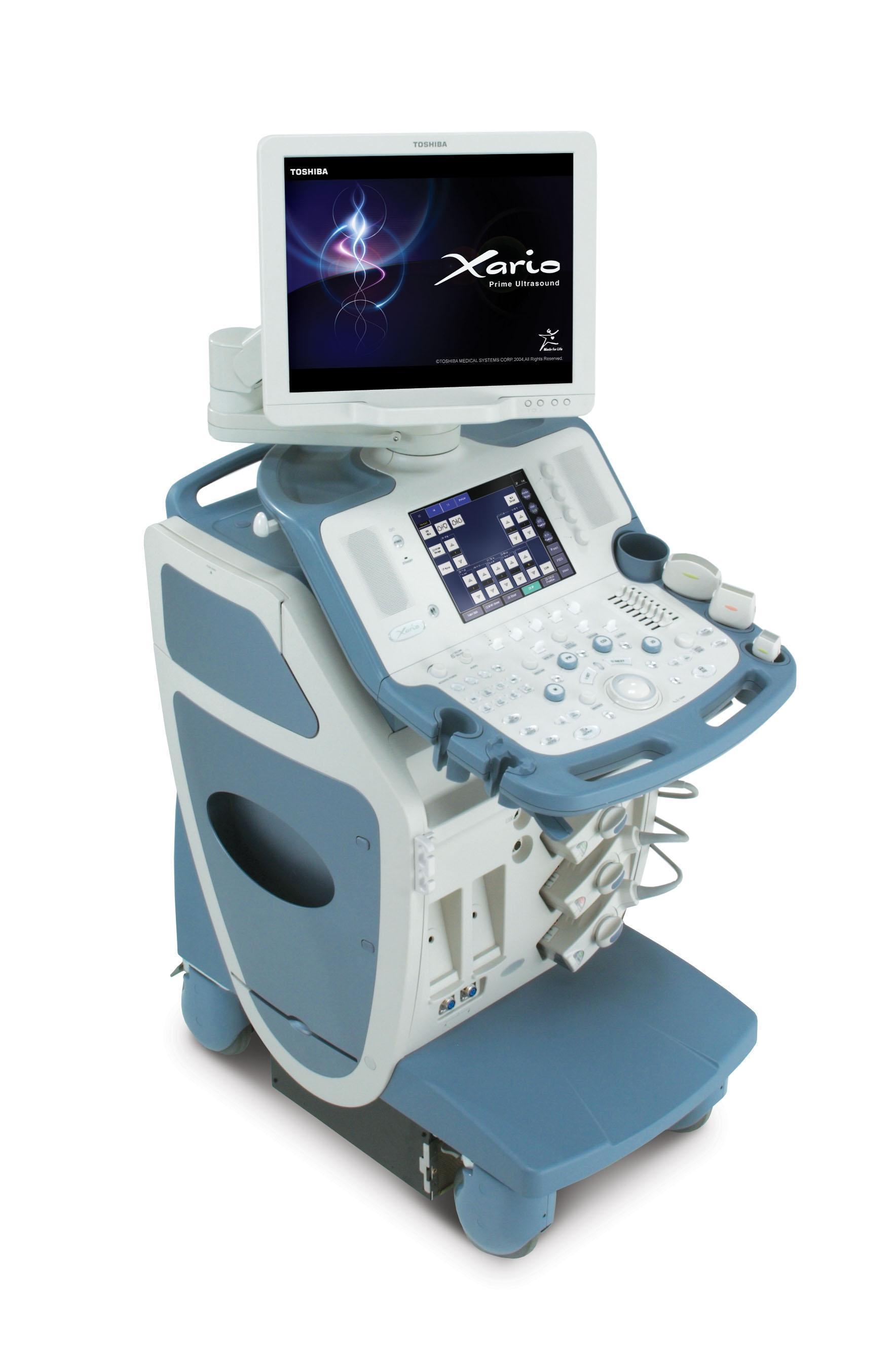 УЗ-аппарат Toshiba Xario в медцентре МайяК в Ялте